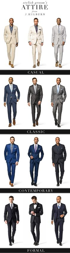 Men's Attire from J.Hilburn Read more about Men's Attire from J.Hilburn from Brides of North Texas, the premier wedding magazine and wedding vendor catalog in DFW. Mode Masculine, Terno Slim, Mode Man, Mode Costume, Style Masculin, Mens Attire, Grooms Men Attire, Wedding Groom Attire, Mens Casual Wedding Attire