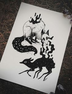 #animals #drawing #blackandwhite