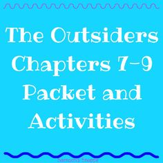 """the outsiders chapter 1 12 note takingsummarizingcomp questions The outsiders: additional chapter questions chapter one 1 what do you know about ponyboy, sodapop, and darry 2 who are the socs who are the greasers 3 how do ponyboy""""s relationships with darry and sodapop differ explain 4 why is the """"gang"""" important to johnny  the outsiders: chapter questions."""