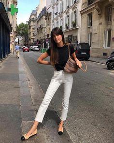 Parisian Style Fashion, French Fashion, Paris Fashion, Parisian Street Style, Classic Fashion Style, Rome Street Style, Minimal Classic Style, Fashion Week, Look Fashion