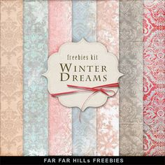 Wednesday's Guest Freebies ~ Far Far Hill ♥♥Join 2,710 people. Follow our Free Digital Scrapbook Board. New Freebies every day.♥♥