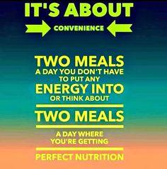 Put perfect nutritio