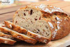 Kalifornisches Walnuss-Cranberry-Brot