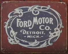 Ford Motor Co., Detroit, Mich.