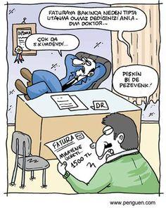 KARİKATÜR : EHLAKSIZ DOKTOR ABİDİN :))))