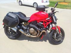 Saddlebags on my Monster 1200