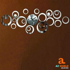 Self Adhesive Circle Wall Clock Type: Wall Clocks Style: Europe Shape: Geometric Feature: Antique Style Motivity Type: Quartz Wall Clocks, Adhesive, Self, Quartz, Europe, Shapes, Type, Antiques, Antiquities