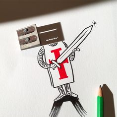 10-William-The-Sharpener-Vincent-Bal-Drawing-with-Shadows-of-Everyday-Things-www-designstack-co
