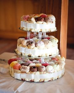 10 Amazing Wedding Cake Alternatives for Your Big Day via Brit + Co