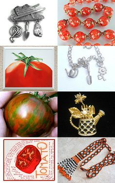 Tomato Dreams  //  VJSE Group Team Treasury 50/50 by Lynne on Etsy--Pinned with TreasuryPin.com