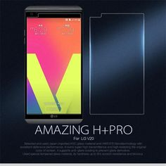 Nillkin Amazing H+Pro 0.2mm Ultra Thin Anti-Explosion 9H 2.5D Tempered Glass For LG V20 Screen Protector for LG V 20 Glass Film