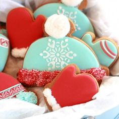 Hat and Mitten Cookies « Go Bold with Butter
