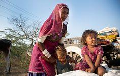 Nomads Rabri women of Gujarat