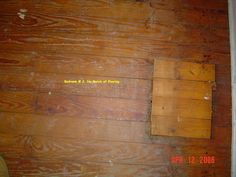 This is your DIY guide to patching hardwood floors. Tongue and groove flooring is designed to allow for replacement, but patching can be a fussy process. Hardwood Floor Repair, Repair Floors, Unfinished Hardwood Flooring, Grey Vinyl Flooring, Old Wood Floors, Wood Repair, Pine Floors, Diy Flooring, Flooring Ideas