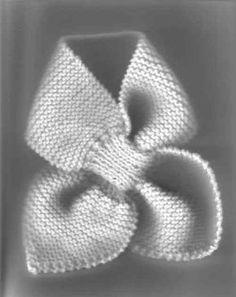 Foto extraida de aquí Este patrón tiene muchas versiones en internet , incluso he encontrado una de ganchillo super mona.. Yo ...