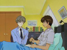 CardCaptor Sakura ~~ Pancakes in bed :: Yukito & Touya