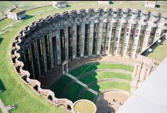 Les Espaces d'Abraxas, Noisy-le-Grand. where they shot for the great movie `Brazil`