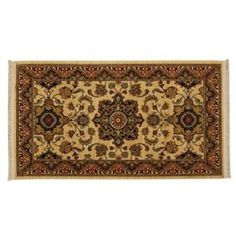 English Manor Manchester Ivory Rectangular: 2 Ft. 6-Inch x 4 Ft. Area Rug