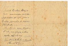 Carta do Conde d'Eu ao Barão Homem de Mello, Eu, 14 de junho de 1912. (2)
