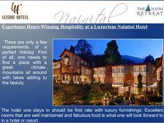 Experience Heart-Winning Hospitality at a Luxurious Nainital Hotel by Vibhas Prasad via slideshare
