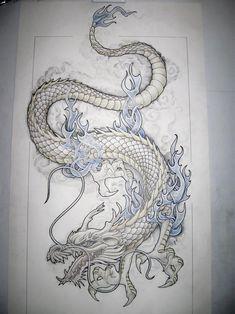 Dragon Tattoo Bicep, Black Dragon Tattoo, Dragon Tattoo Art, Chinese Dragon Tattoos, Dragon Tattoo For Women, Dragon Sleeve Tattoos, Tattoo Arm, Dragon Tattoo Designs For Back, Dragon Tattoo Around Arm