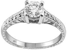 .91 Carat Layna Diamond Platinum Engagement Ring