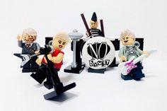 Artista recria bandas famosas usando LEGO, by Adly Syairi Ramly @B9