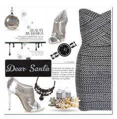 """Dear Santa"" by meledo ❤ liked on Polyvore featuring WithChic, Regina-Andrew Design, Givenchy, Casadei and Fendi"