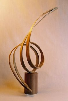 """Zephyr"" by John McAbery Wood Sculptures"