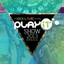 PlayIT 2013 logo. http://www.hunworld.com/