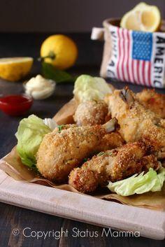 pollo ricetta cucinare america pollo fritto al forno facile economica gustosa Statusmamma Giallozafferano