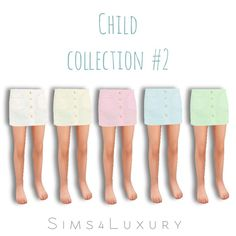 Child collection #2 at Sims4 Luxury via Sims 4 Updates