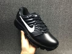 big sale da8cb f953f Cheap Nike Air Max 2017 Leather Black White Mens shoes Wholesale Nike Air  Max 2017 shoes Discount Only Price  67 To Worldwide Free Shipping