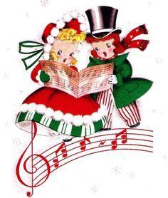 Vintage Christmas Cards on Pinterest | Vintage Christmas ...