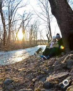 Cuppek Photography #sunset #stream #autumn