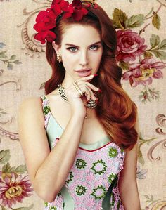 Lana Del Rey, she is so gorgeous