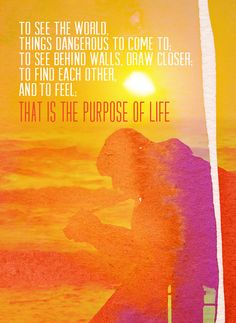 Life Magazine Quote from Secret Life of Walter Mitty bigbrightbold - Blog