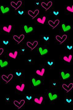 imagenes de fondo para whatsapp de corazones - Buscar con Google