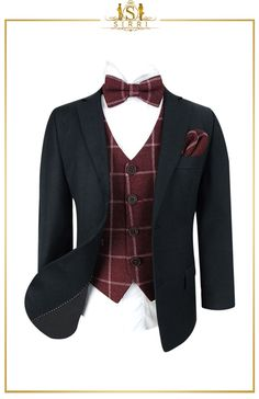 This striking vintage style dark grey boys suit is a great retro look for those who are looking for something a little different. With the tweed combo it gives a combination that is good looking and a little on the rustic side - perfect for those who are looking for something out of the norm especially at weddings. Shop now at SIRRI kids #boys formal wear #kids suits #page boy outfits