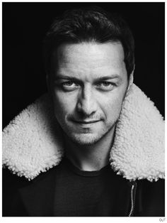 James McAvoy Covers OUT October 2014 Issue