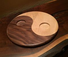 Ying Yang Tray- Available in two sizes and can serve salt & pepper, oil…