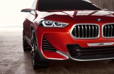 I wouldn't typically be crazy about the size of those kidney grilles, but it works on such a sporty car. Also, as a nice little detail, BMW put a pair of X's in the headlights.