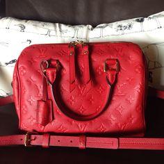 Louis Vuitton Empriente in Cherry
