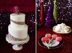 A Sparkly + Glam Holiday – with Unicorns! | Green Wedding Shoes Wedding Blog | Wedding Trends for Stylish + Creative Brides