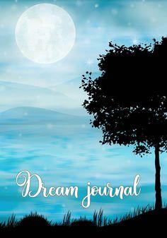 Keep Track Books - Dream journals Dream Journal, Keep Track, Lucid Dreaming, Journals, Celestial, Books, Movie Posters, Outdoor, Art