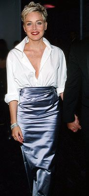 Sharon Stone and 'the white shirt' 1998 Oscars