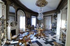 Interior del museo Cerralbo.