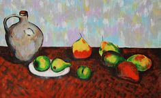 Jarro e Frutas