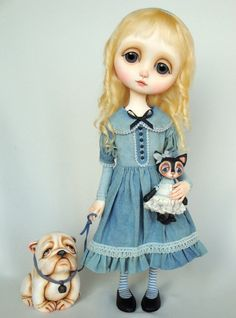 Ana Salvador  art doll