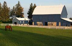 B: beautiful barn!!!